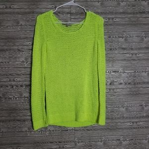 Gap neon pullover sweater small